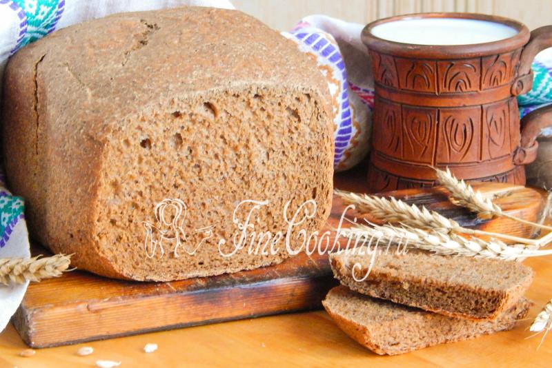 Рецепт хлеба из ржаной муки хлебопечка