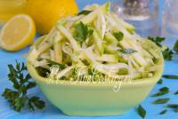 Капуста с кабачком салат на зиму 177