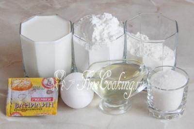 рецепт блинов на молоке с крахмалом и мукой