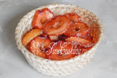 Как из яблок сделать цукаты из