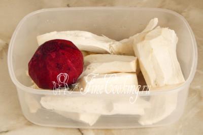 Хрен со свеклой на зиму - рецепт с фото