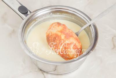 Шаг 9. Куриные грудки в молоке готовы