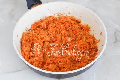 Печеночный торт лук морковь