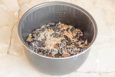 перловка с курицей и грибами в мультиварке рецепты с фото