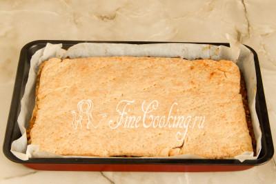 Шаг 15. Готовим пирог при этой же температуре около 20-25 минут