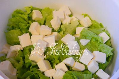 Салат греческий какой сыр лучше