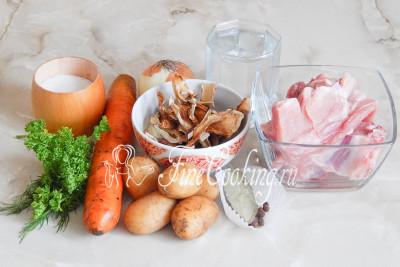 рецепт сырного грибного супа из шампиньонов