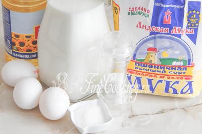 Тоненькие блинчики на молоке рецепт на 1 литр молока