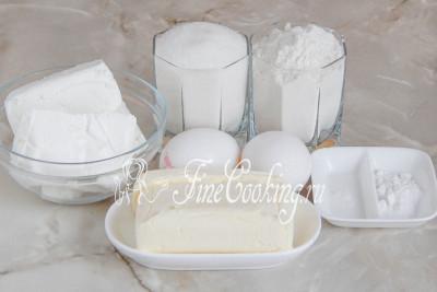 простой рецепт творожного кекса в духовке