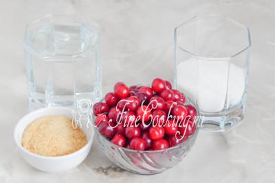 Как сделать вишневое желе