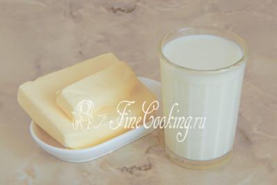 Как сделать из молока и масла сливки