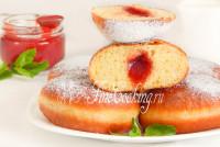 Блинный торт Крепвиль - рецепт с фото