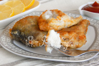 Картофельная запеканка с рыбой