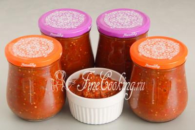 Всего из указанного количества используемых ингредиентов получается чуть более 2 литров вкуснейшего домашнего айвара
