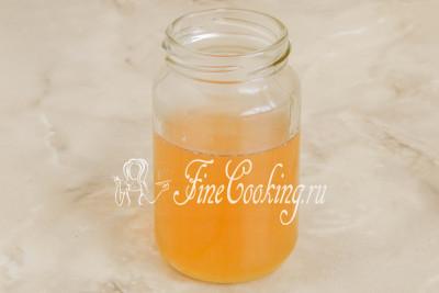 Шаг 11. Сахарный сироп со вкусом и ароматом имбиря не выливайте