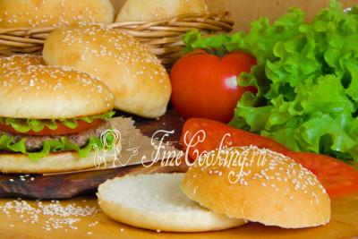 Попробуйте и вы приготовить булочки для гамбургеров в домашних условиях