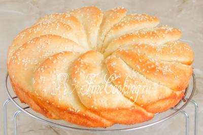 Сдобный хлеб Погача - рецепт пошаговый с фото
