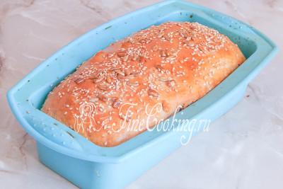 Домашний хлеб с семенами - рецепт пошаговый с фото