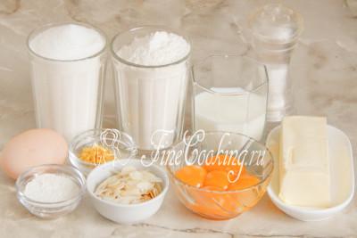 Кекс на кефире и растительном масле  рецепт с фото