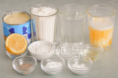 Кекс на сгущенном молоке - рецепт пошаговый с фото