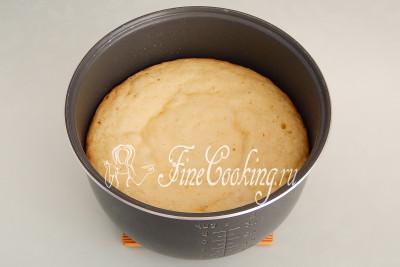 Готовим кекс со сгущенкой на режиме Выпечка в течение примерно 1 часа