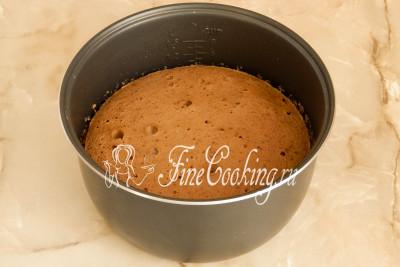 Кофейный бисквит с корицей - рецепт пошаговый с фото