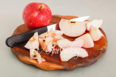 Компот из антоновки и замороженной клюквы - рецепт пошаговый с фото