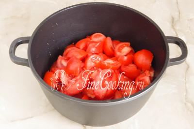 Итак, первым делом займемся помидорами