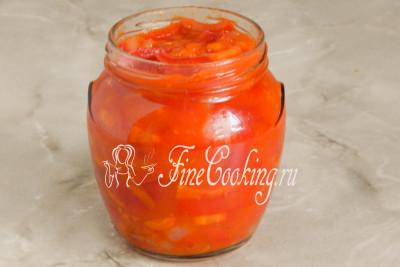 заправка на зиму рецепты из перца помидор лука моркови