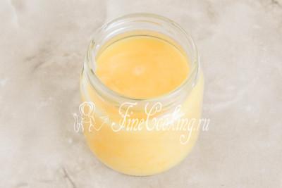 Всего у меня получается 170 граммов ароматного лимонного курда