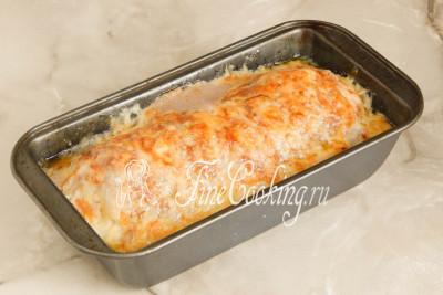 Готовим митлоф (мясной хлеб) с яйцом около 35-40 минут