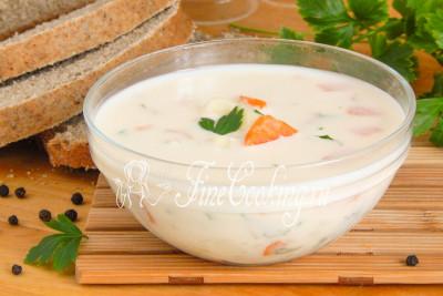 Овощной суп с плавленым сыром - рецепт Время Обедать Рецепты