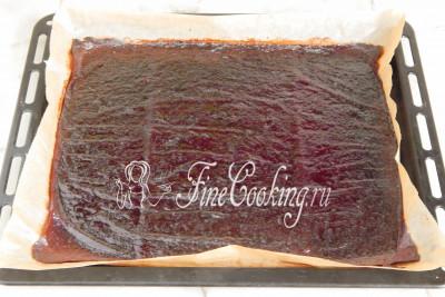 пастила из вишни в духовке рецепт