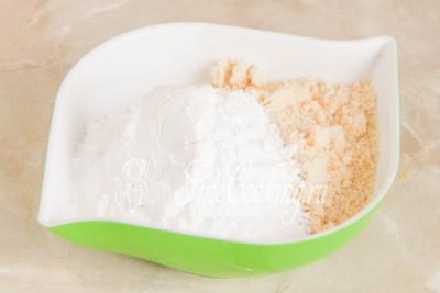Готовим тесто для пирожных Макарон