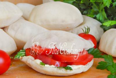 Арабские лепешки питы получаются мягкими, нежными, ароматными и очень вкусными