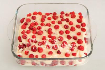 Пирог Малиновая фантазия - рецепт пошаговый с фото