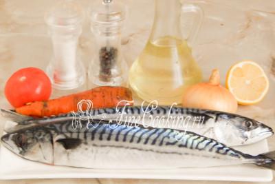 Скумбрия свежемороженая рецепты с фото простые и вкусные