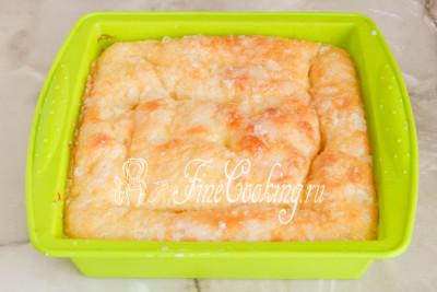 Пирог с изюмом и сахарной пудрой - рецепт пошаговый с фото
