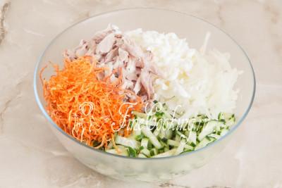 Пора собирать салат Гнездо глухаря