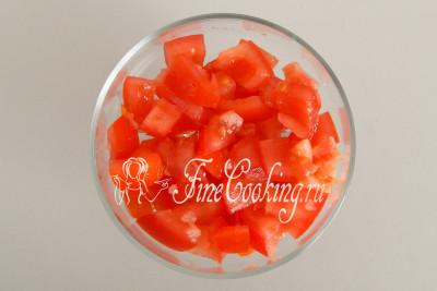 Салат из помидор и яиц - рецепт пошаговый с фото