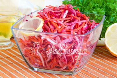 Надеюсь, рецепт этого [вегетарианского салата](/recipe/domashnjaja-morkov-po-korejski) вам понравится – вы его обязательно приготовите, попробуете и оцените по достоинству
