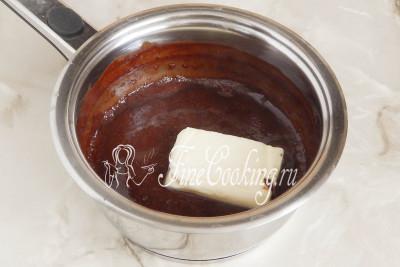 Шоколадная глазурь для торта на молоке