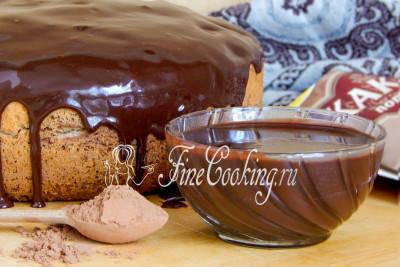 Шоколадная глазурь с молоком
