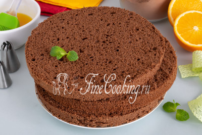 Пышный, вкусный и красивый шоколадный бисквит вам точно понравится
