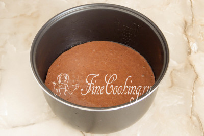 Шоколадный манник в мультиварке - рецепт пошаговый с фото