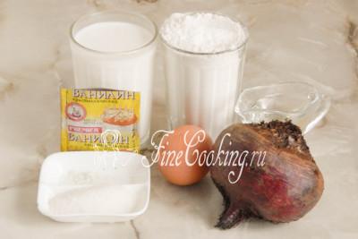 Свекольные блинчики - рецепт с фото