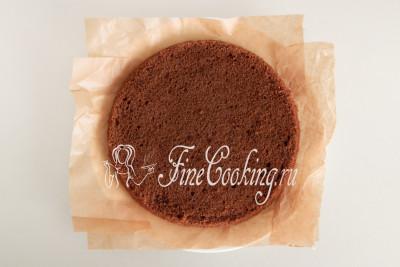 Сборка торта Черный лес