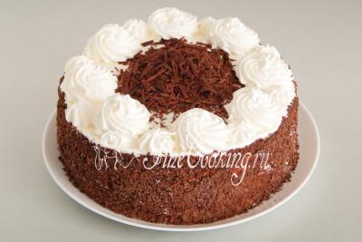 Торт Черный лес готов