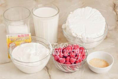 йогуртовое желе с малиной как приготовить