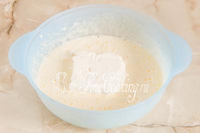 Быстрый пирог с малиной и творогом - рецепт пошаговый с фото